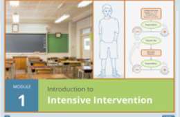 Cover of Intensive Intervention Module