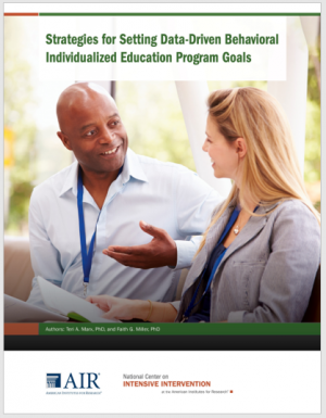 IEP Behavior Guide Cover
